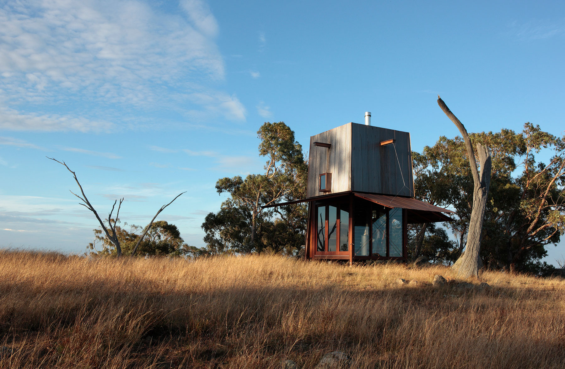 Permanent Camping Structure by Casey Brown Architecture