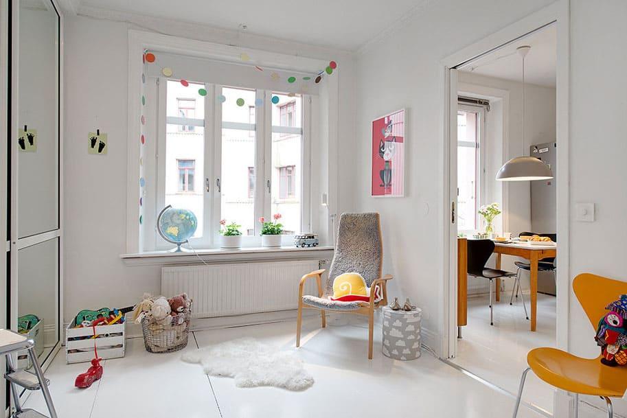 Scandinavian Design: a Lovely Maisonette in Gothenburg