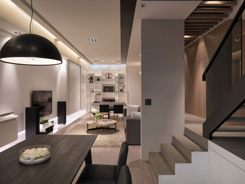 Contemporary Apartment by Edo Design Studio