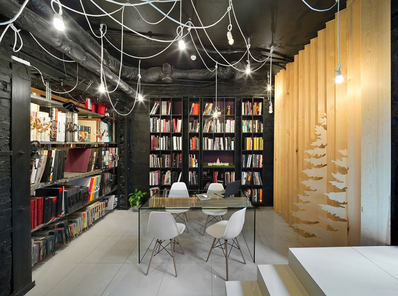A Showroom in Kiev by A-partment
