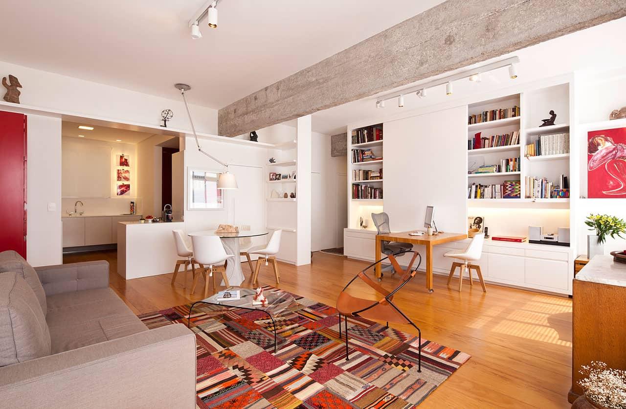 Apartamento yn by am studio de arquitetura
