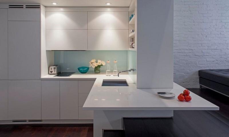 Small Is Beautiful Manhattan MicroLoft By Specht Harpman Custom Kitchen Remodeling Manhattan Decor Property