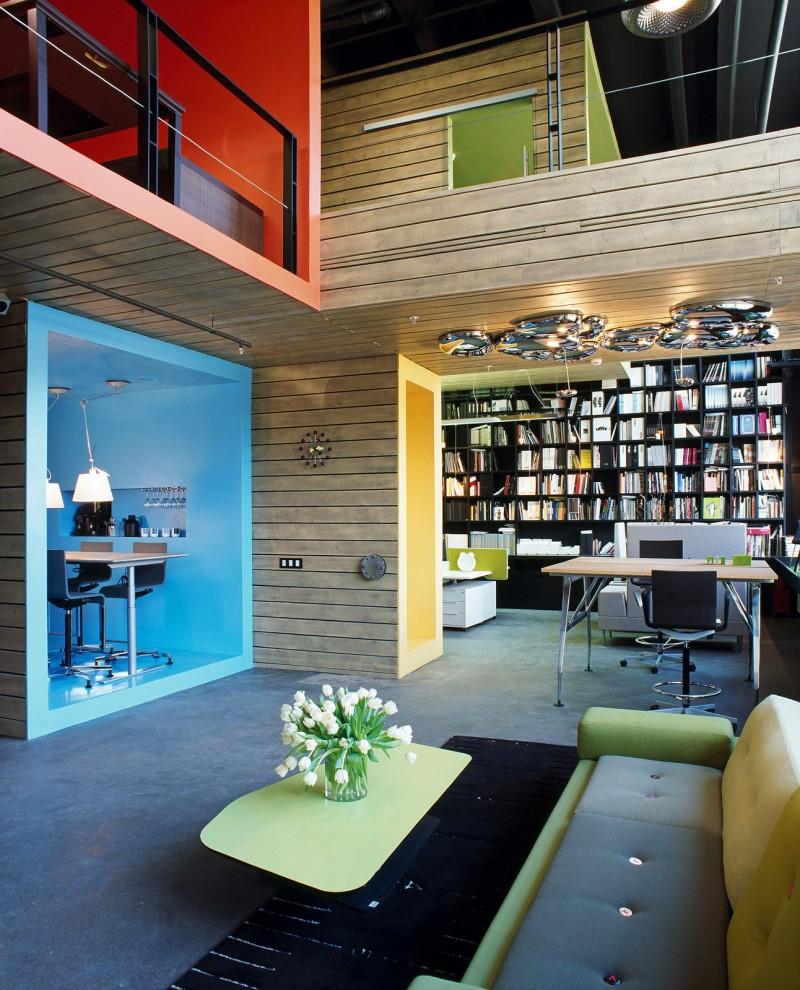Modern furniture showroom design - View In Gallery