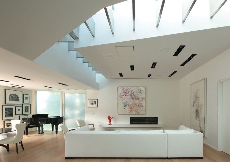 Santa monica canyon residence by griffin enright architects - Residence santa monica canyon en californie ...