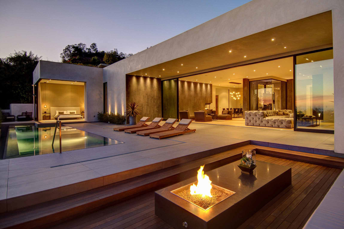 Spectacular views over los angeles by la kaza and meridith - Villa moderne los angeles meridith baer ...