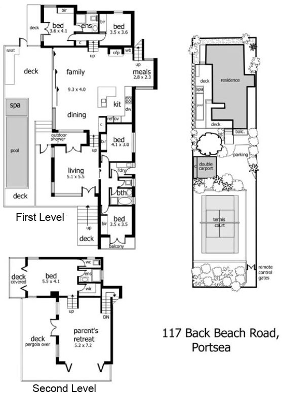 split level floor plans split level beach home in back beach 5362