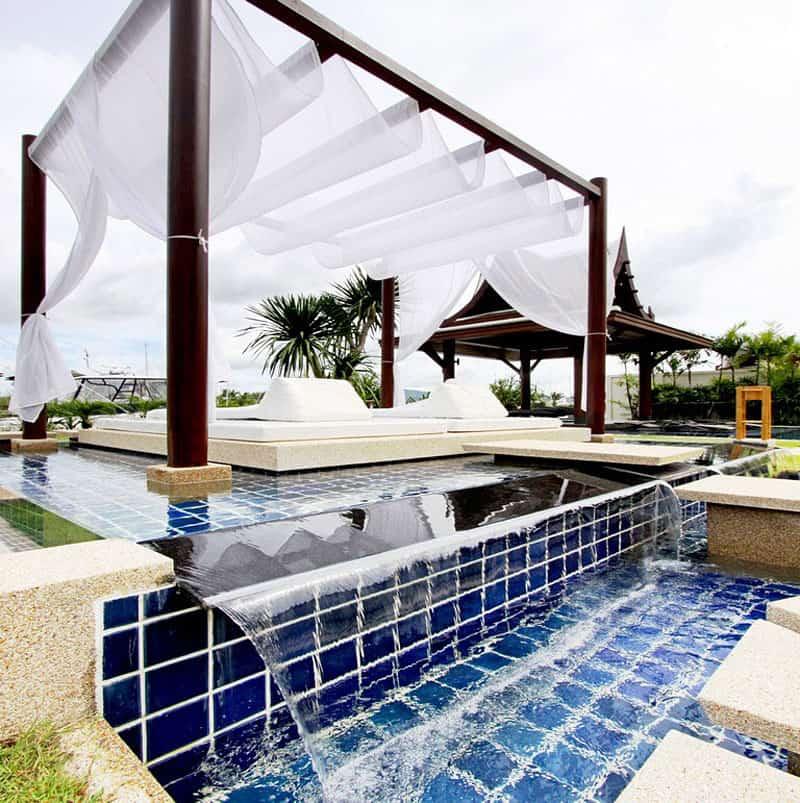 Villa with Private Yacht Berth