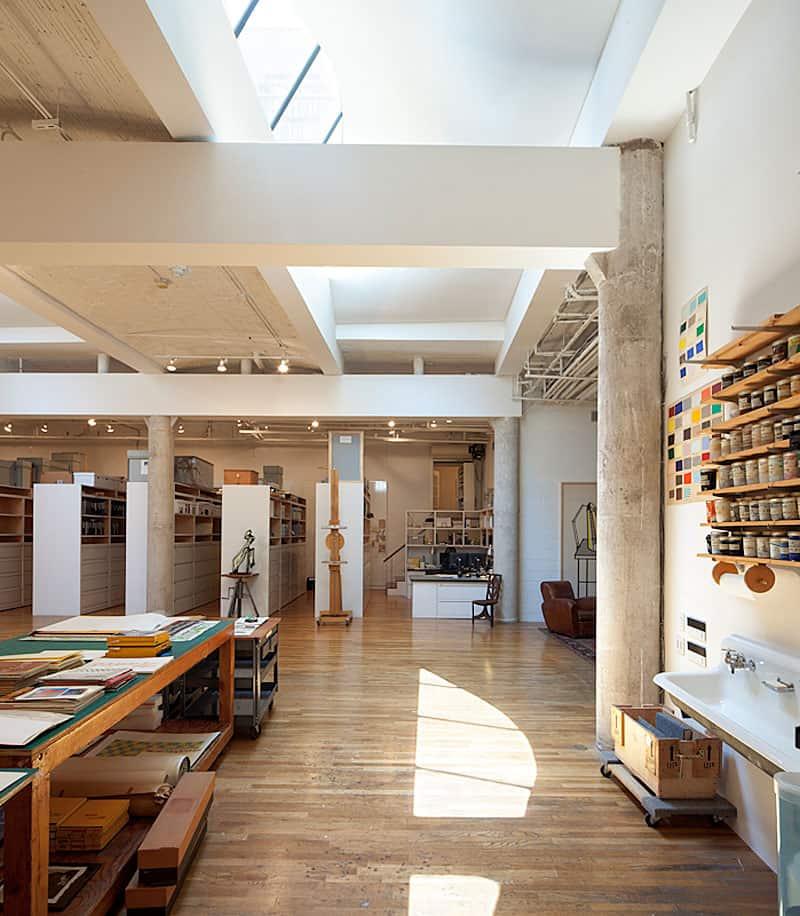 Artist Residence & Studio by Caliper Studio