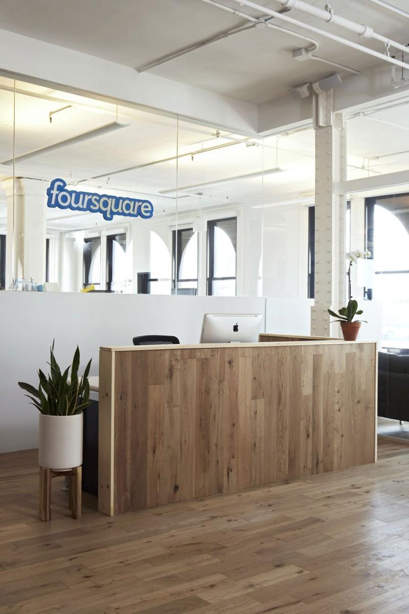 Foursquare\'s Soho HQ by Designer Fluff