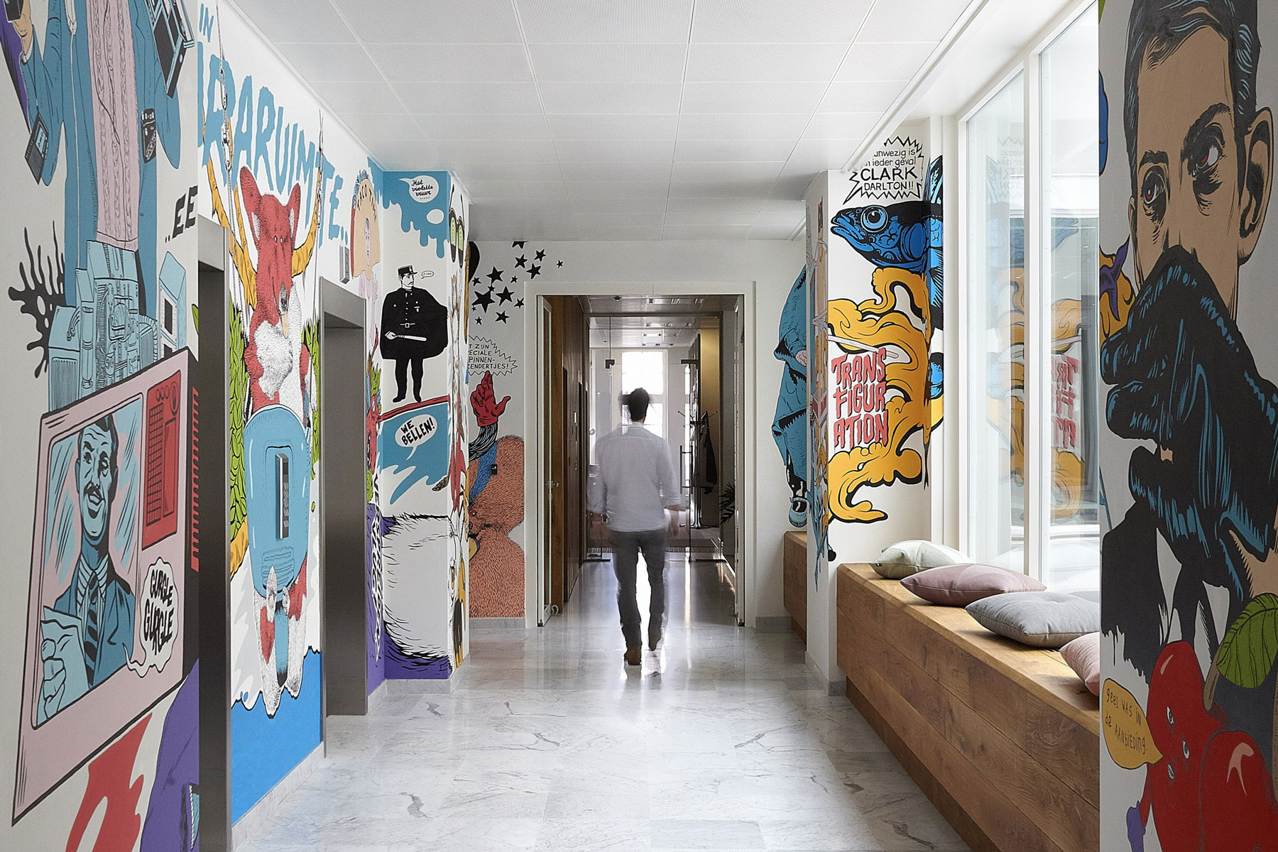 Jwt amsterdam office by koudenburg elsinga for Interieur design amsterdam