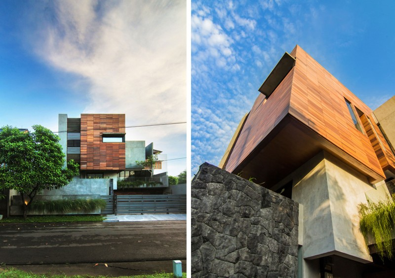 Lumber Shaped-Box House by Atelier Riri