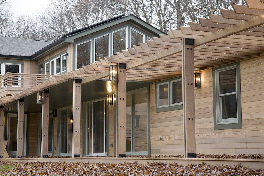 Sag Harbor House in the Woods by Jendretzki (1)