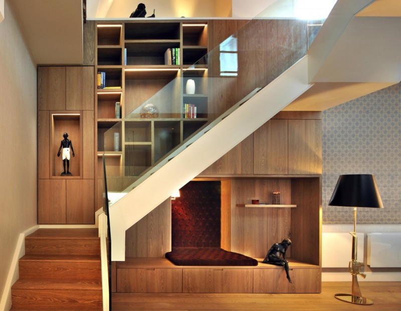 A Contemporary Penthouse Apartment In A Partially Converted Orthodox Church  In London, England