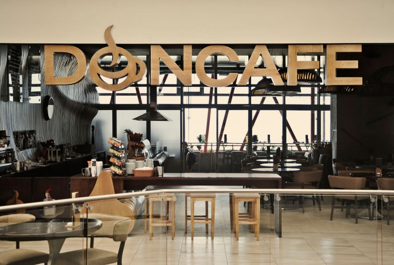 don caf house by innarch - Contemporary Cafe Interior