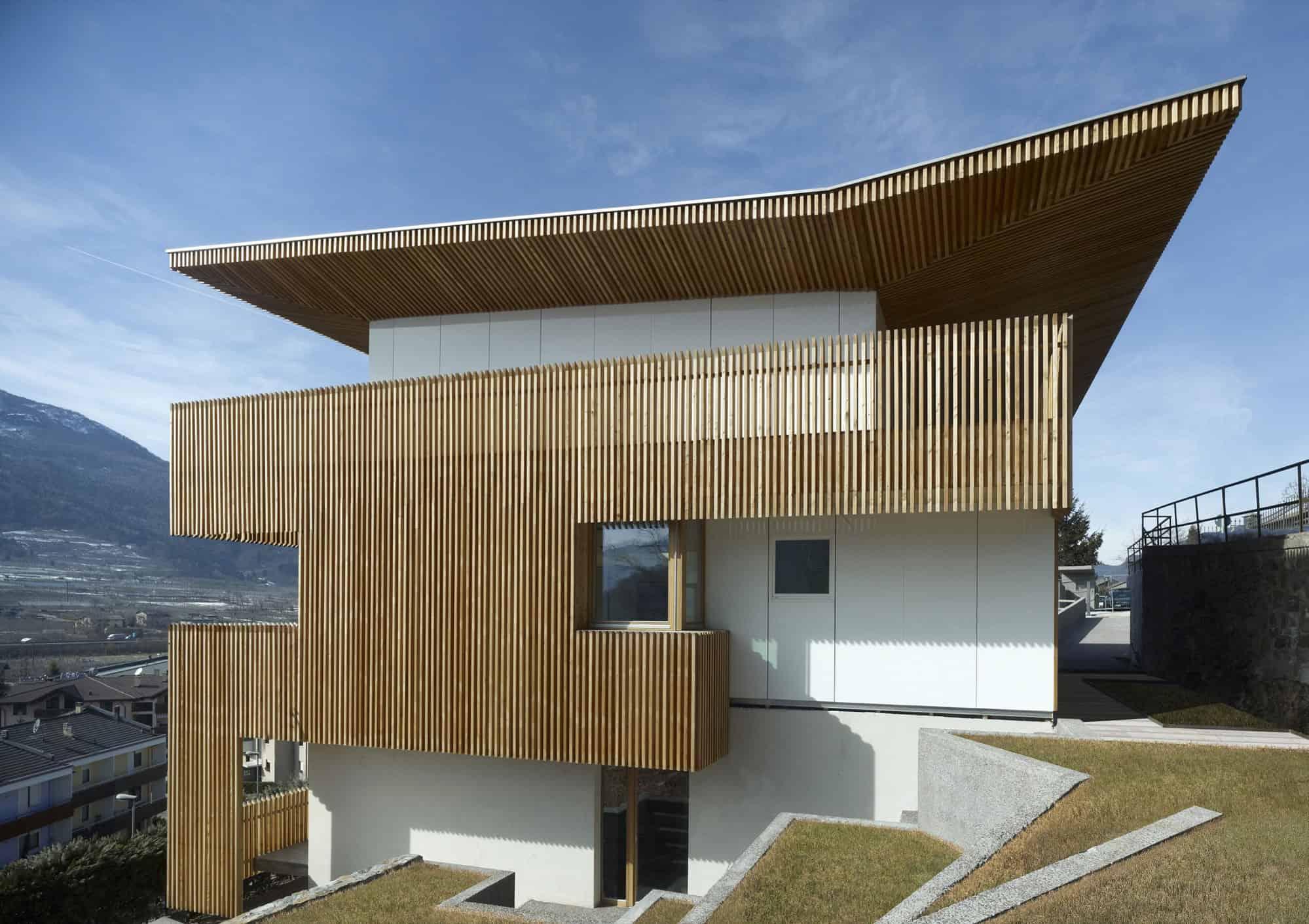 PF Single Family House by Burnazzi Feltrin Architects