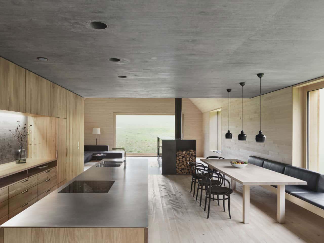 Haus am Moor by Bernardo Bader Architects