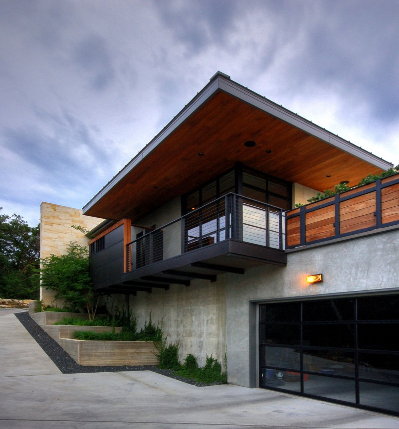 hill country residence by cornerstone architects