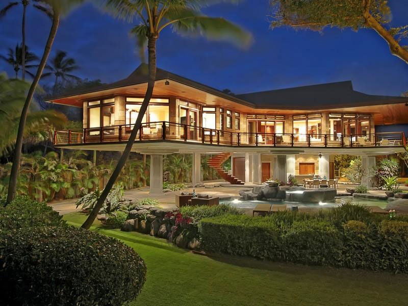 Incroyable Magnificent North Shore Beachfront Home. Hawaii Home Design.