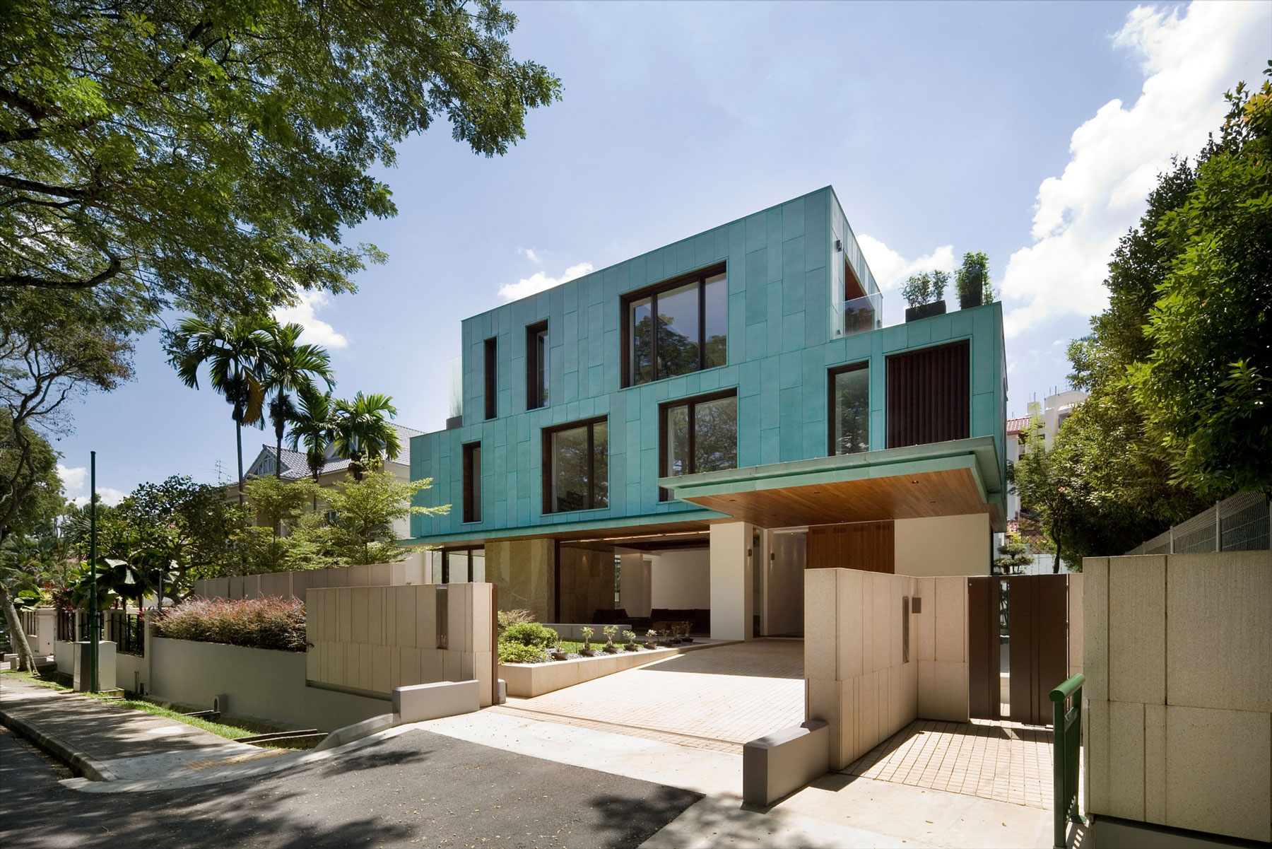The Green House by K2LD Architects