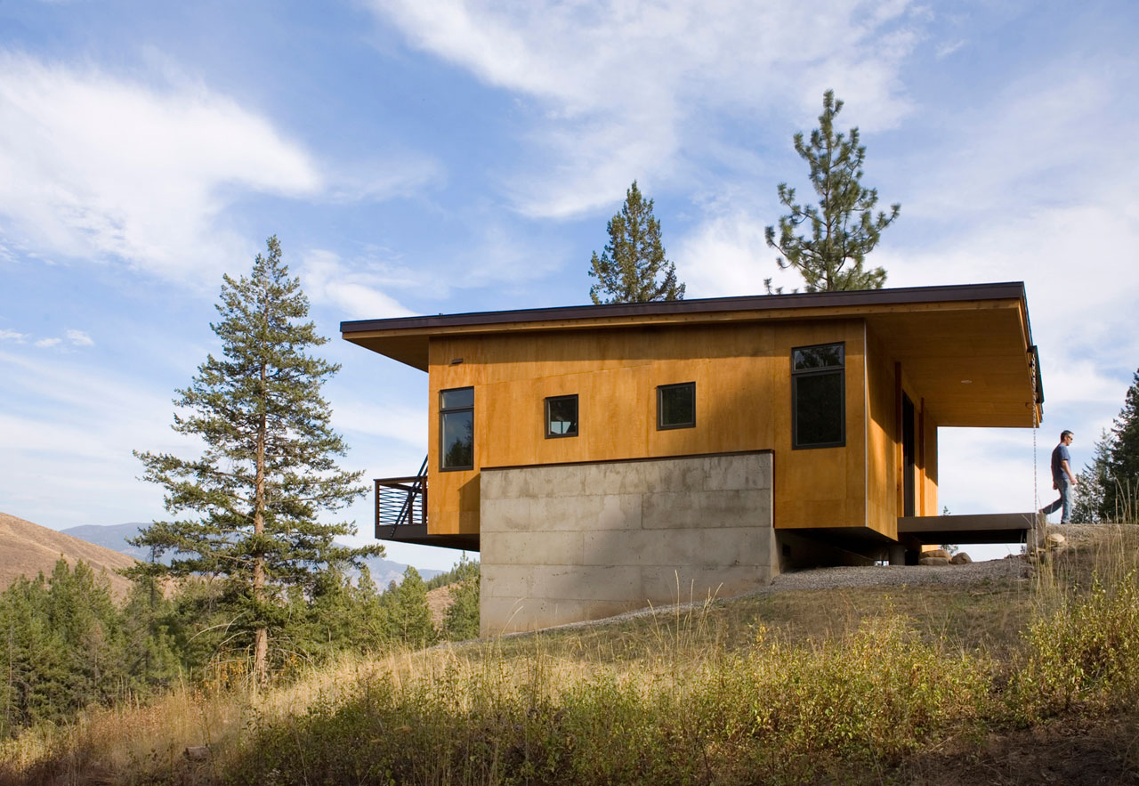 Pine Forest Cabin by Balance Associates Architects (2)