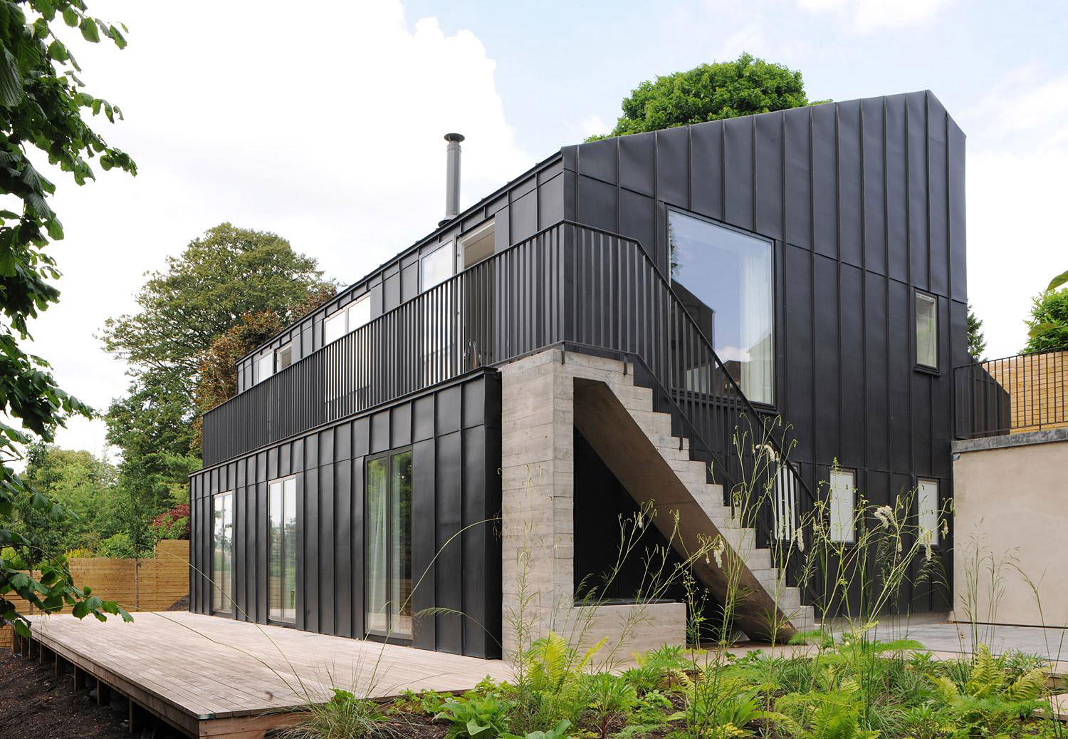 Prospect House by Dow Jones Architects