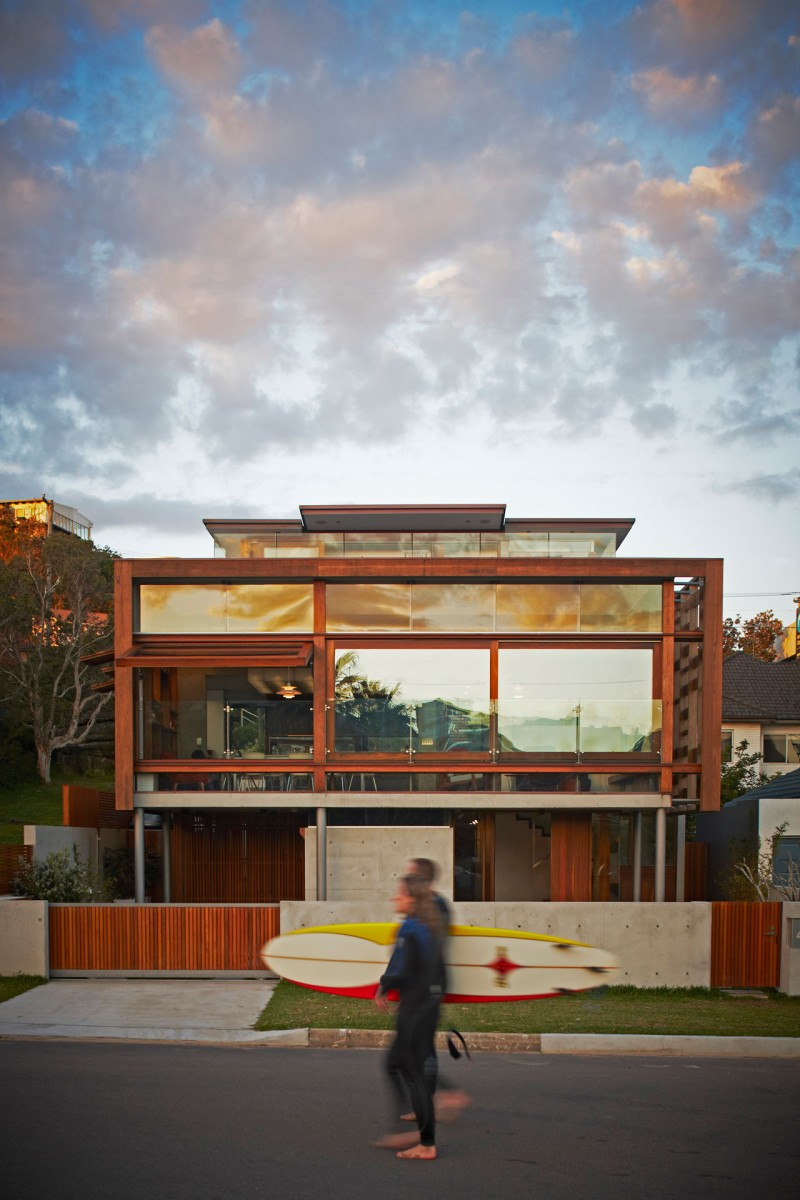Freshwater House by Brewster Hjorth Architects