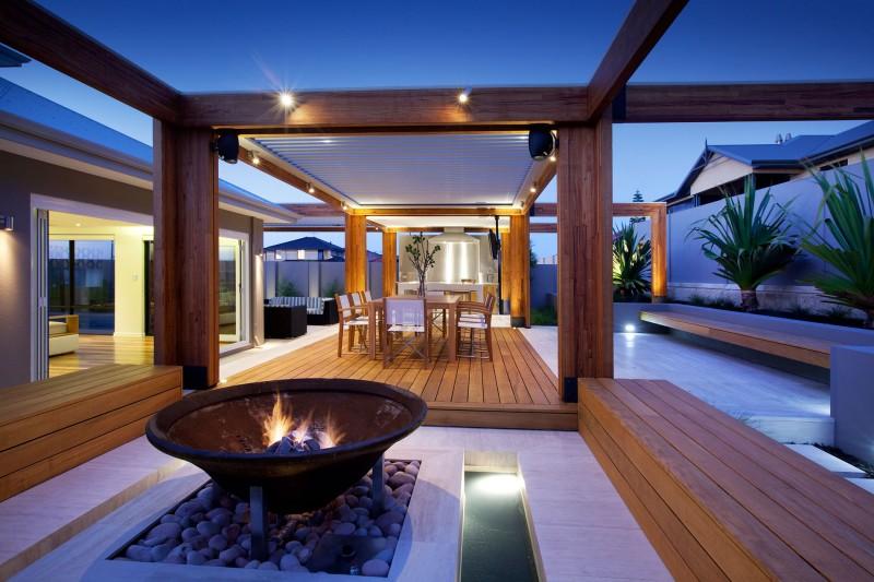 Hillarys By Ritz Exterior Design Classy Wooden Living Room Exterior