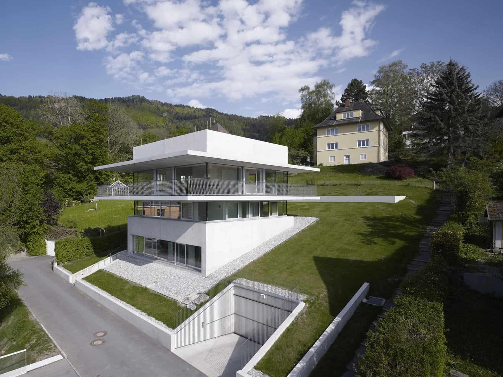 house by the lake by marte marte architekten. Black Bedroom Furniture Sets. Home Design Ideas