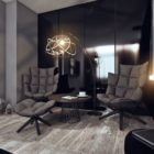 Moscow Bachelor Apartment by Angelina Alexeeva (4)