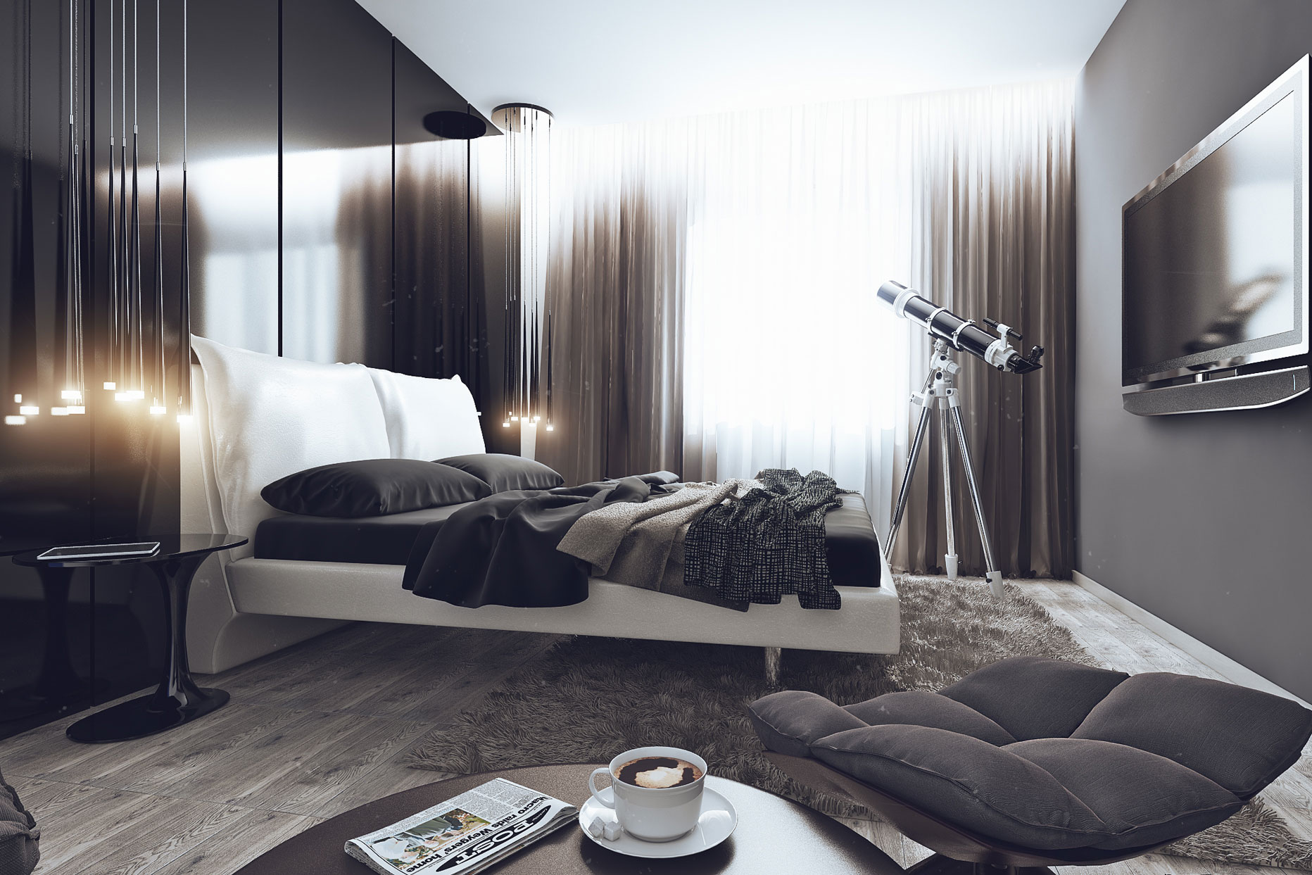 Super Lcd Moscow Bachelor Apartment By Angelina Alexeeva Download Free Architecture Designs Intelgarnamadebymaigaardcom