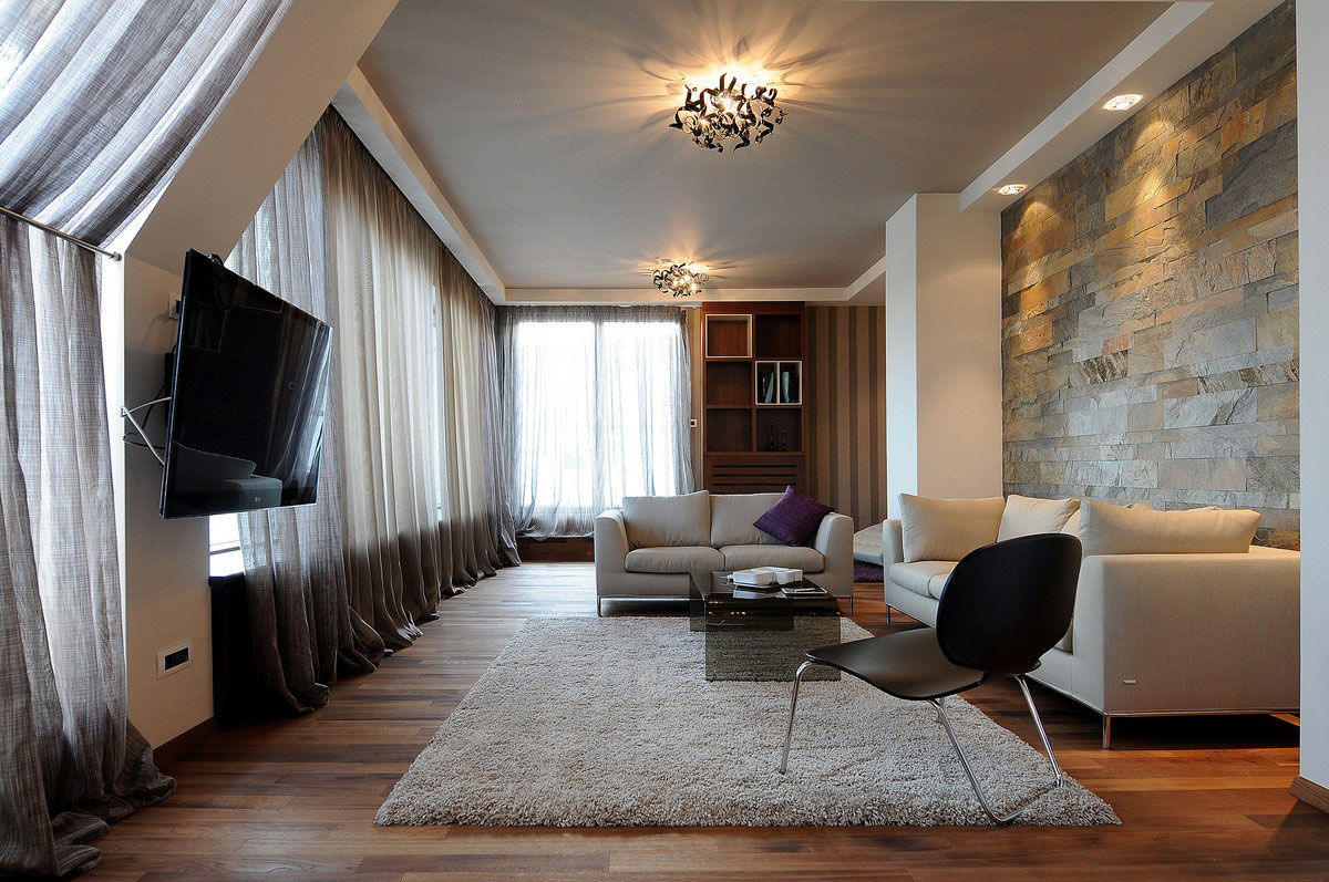 Penthouse in belgrade by gradnja