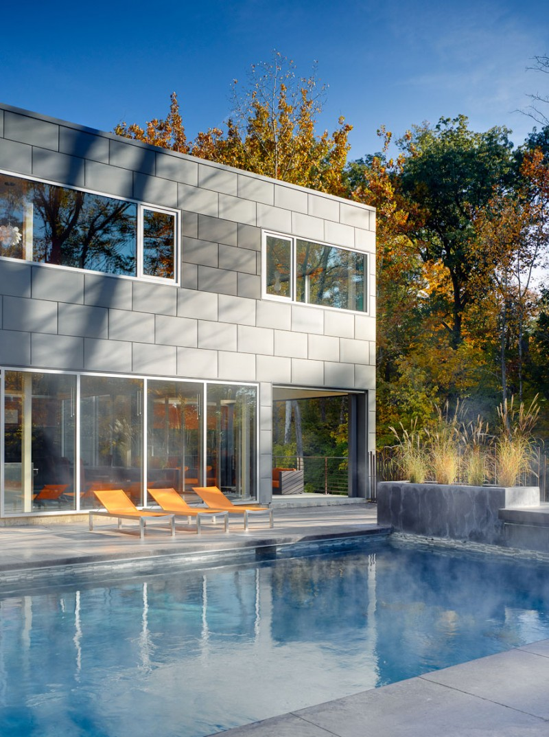 The Zinc House by New Homes & Land