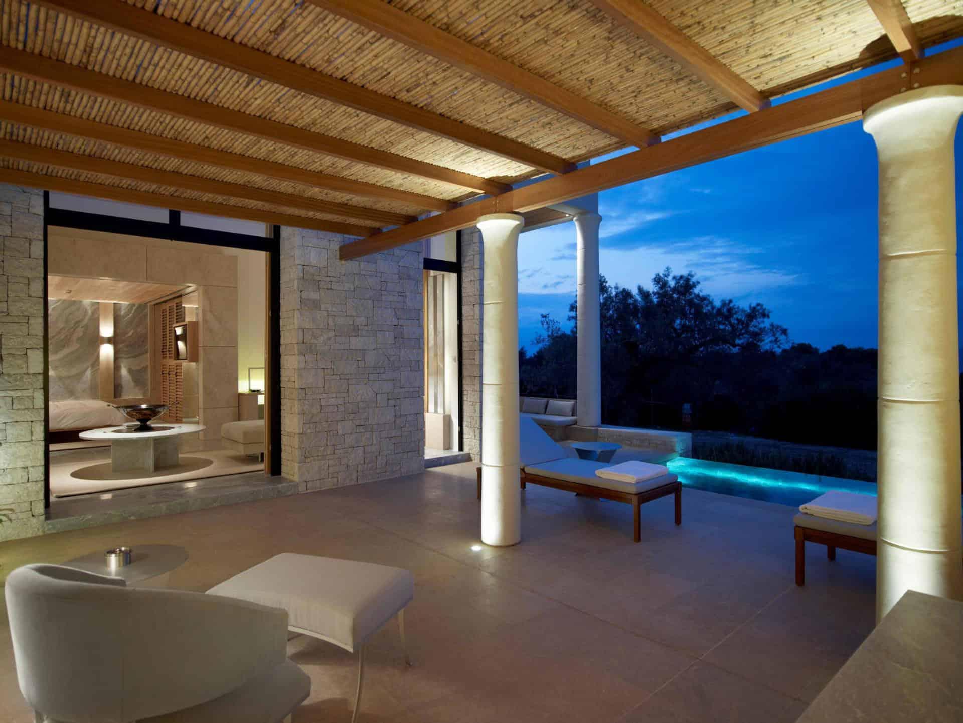 Aman Villas at Amanzoe by Dolphin Capital Investors