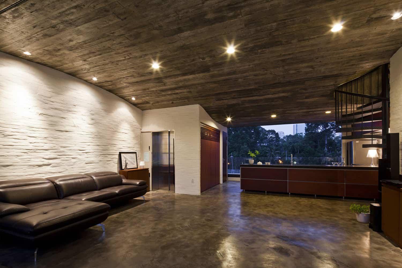 Binh Thanh House by Vo Trong Nghia Architects and Sanuki + Nishizawa architects