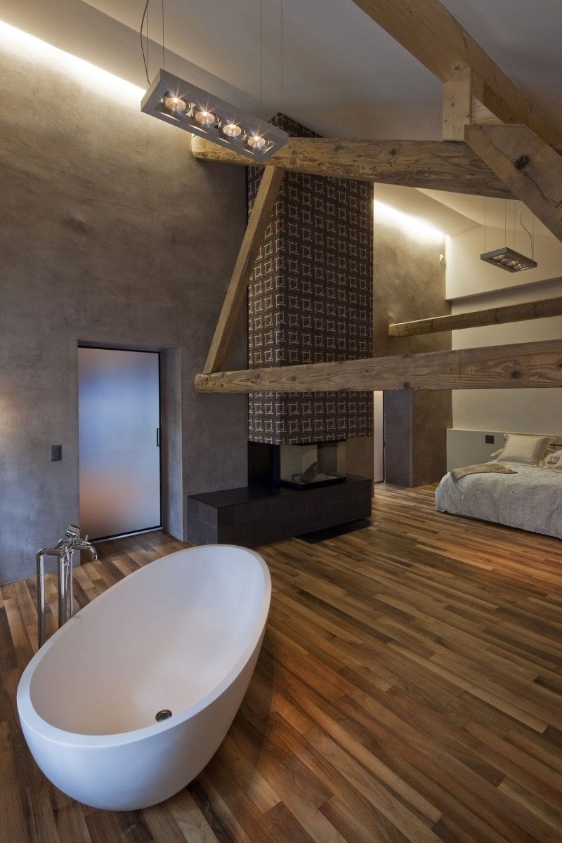Conversion of a farmhouse by arttesa interior design