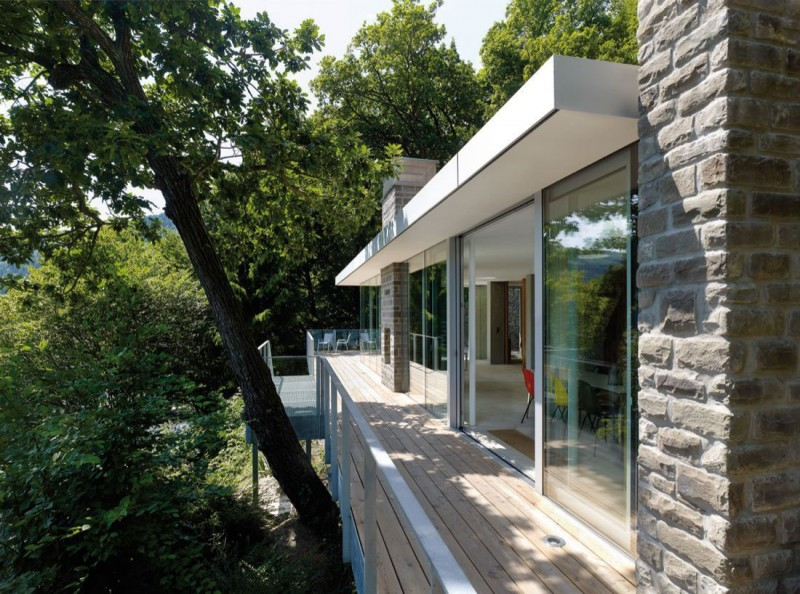 Lhvh Architekten lake house by lhvh architekten
