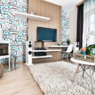 Vibrant Apartment in Budapest by Csorba Anita (1)