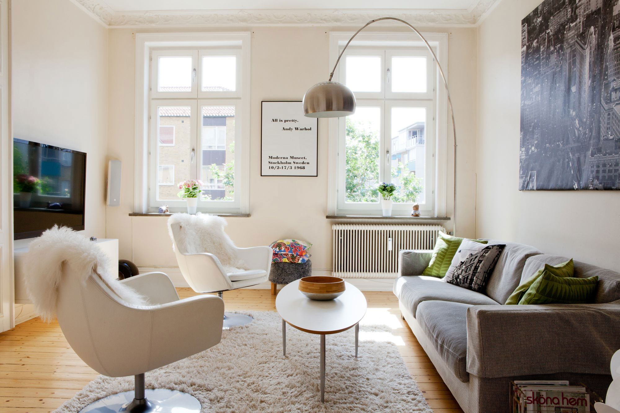 Scandinavian Design A Turn Of The Century Apartment In Malmö