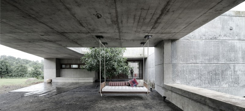 Concrete Bench Cafe