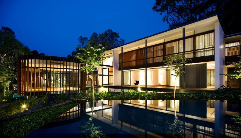 Screen House By K2ld Architects