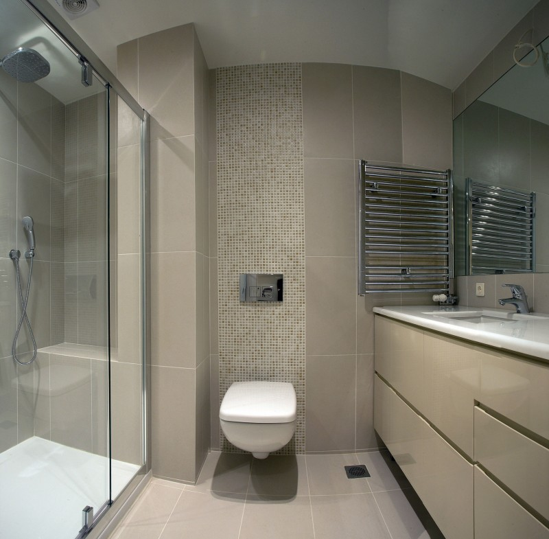Apartment Renovation In Athens By Stirixis Group - Apartment bathroom renovation