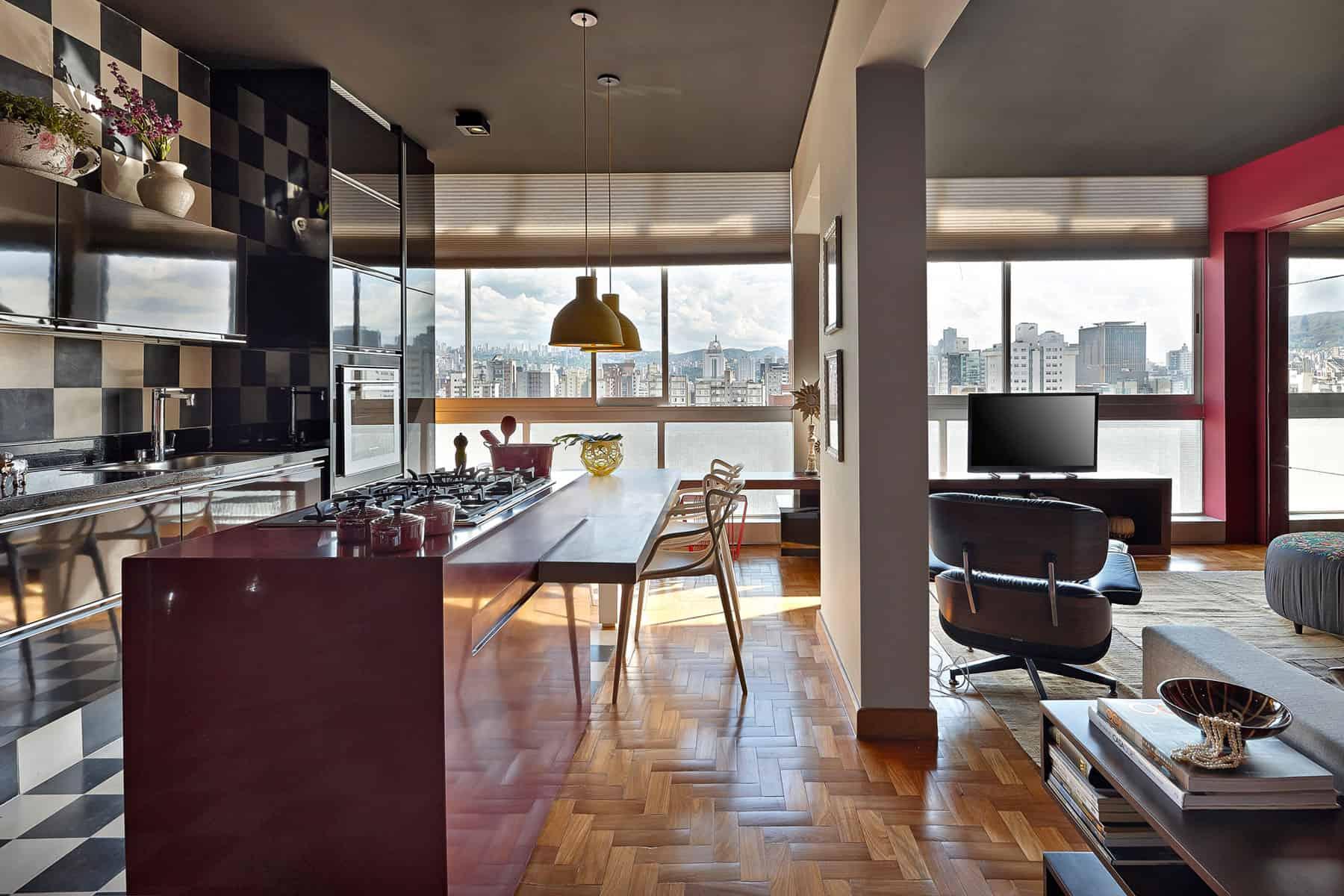 Apartment in Belo Horizonte by Gislene Lopes