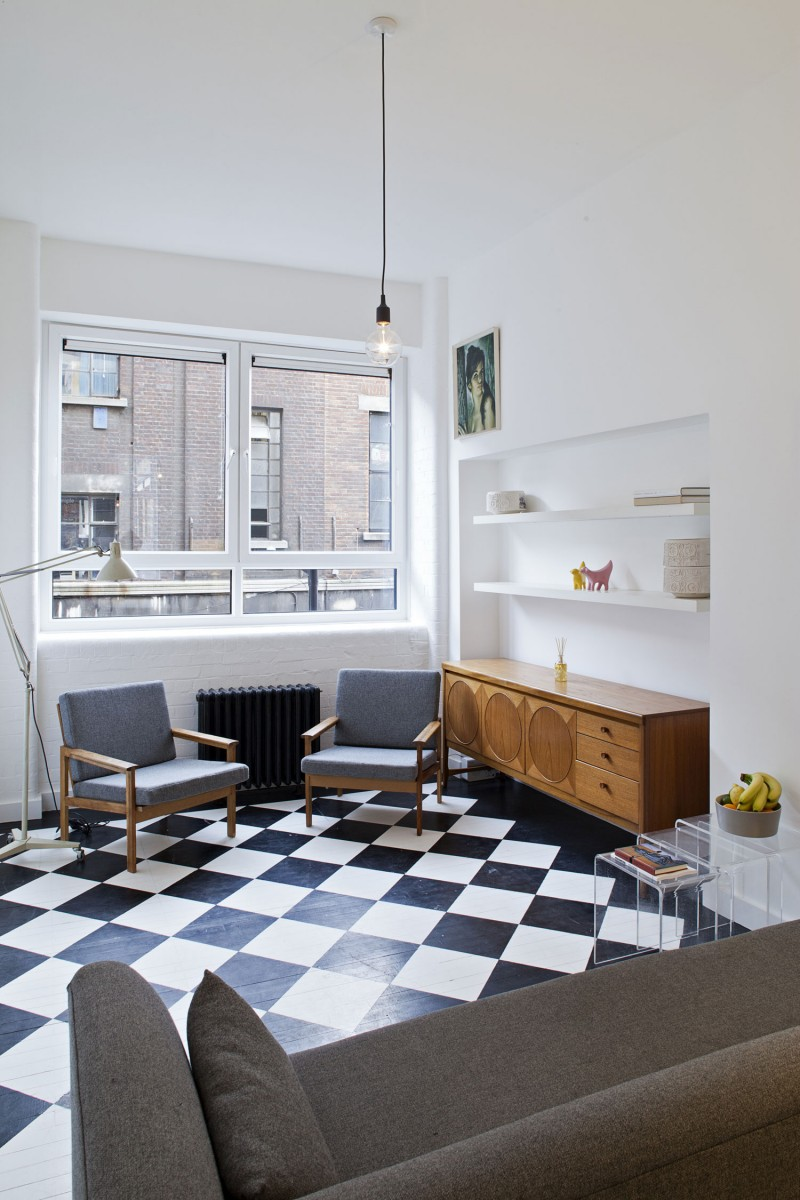 Colorful 50s Living Room Inspiration - Living Room Design Ideas ...