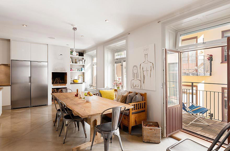 Scandinavian Design: an Exclusive Loft on Strandvägen