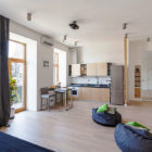 Open Studio Apartment in Kiev by FILD (2)