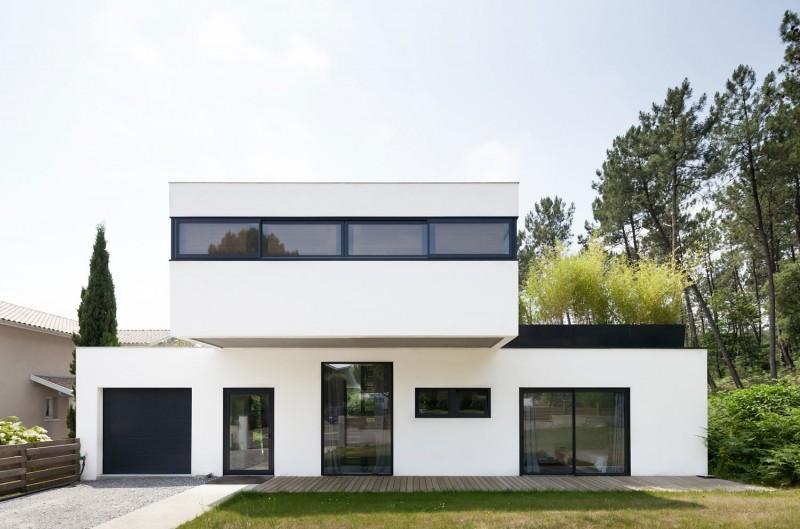Villa seignosse by debarre duplantiers associ s for Modernes haus 160 qm