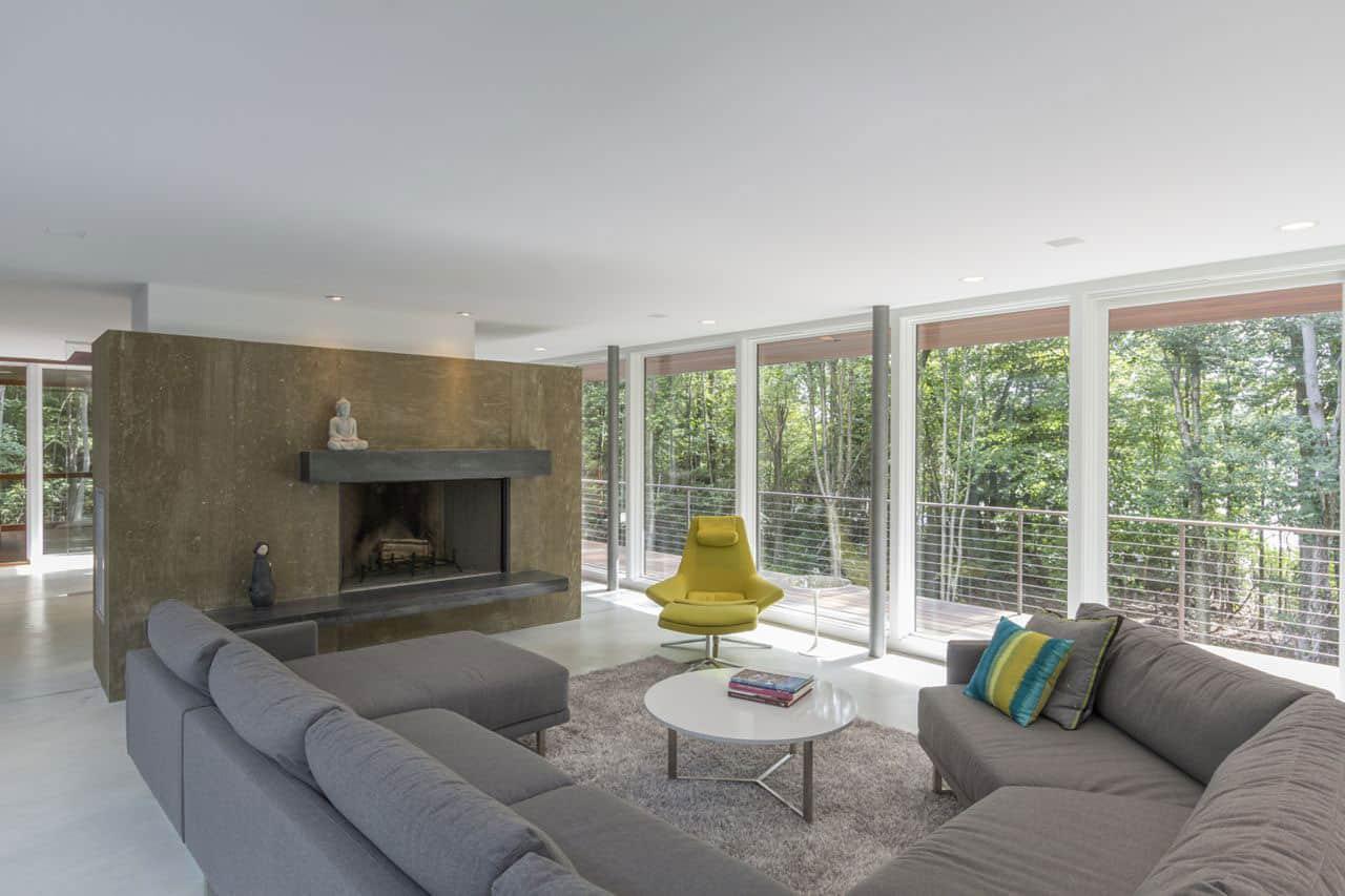 Berkshire Pond House by David Jay Weiner