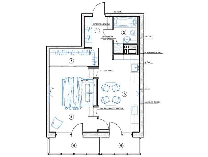 100+ Floor Plan Small Apartment Colors   Virtual Tour Lester ...