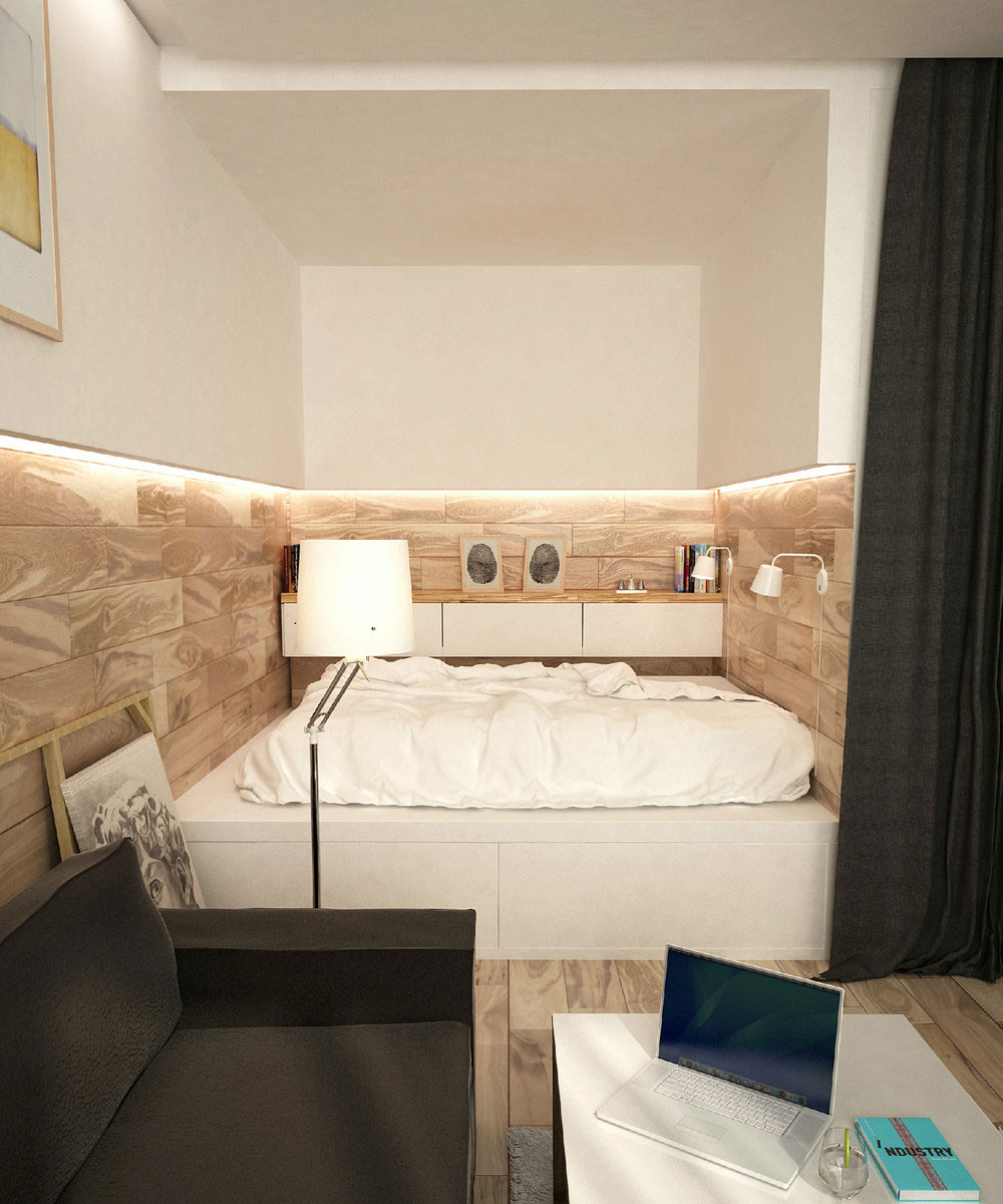 An interior for a young couple by design art ugol