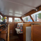 Transformation of a barge into a home by BBVH Architects (5)